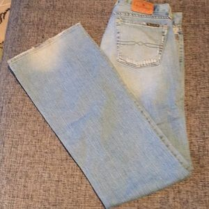 Faded Lucky Brand bell bottoms